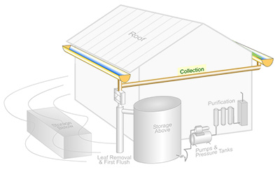 Rainwater Harvesting Components: A Conveyance System